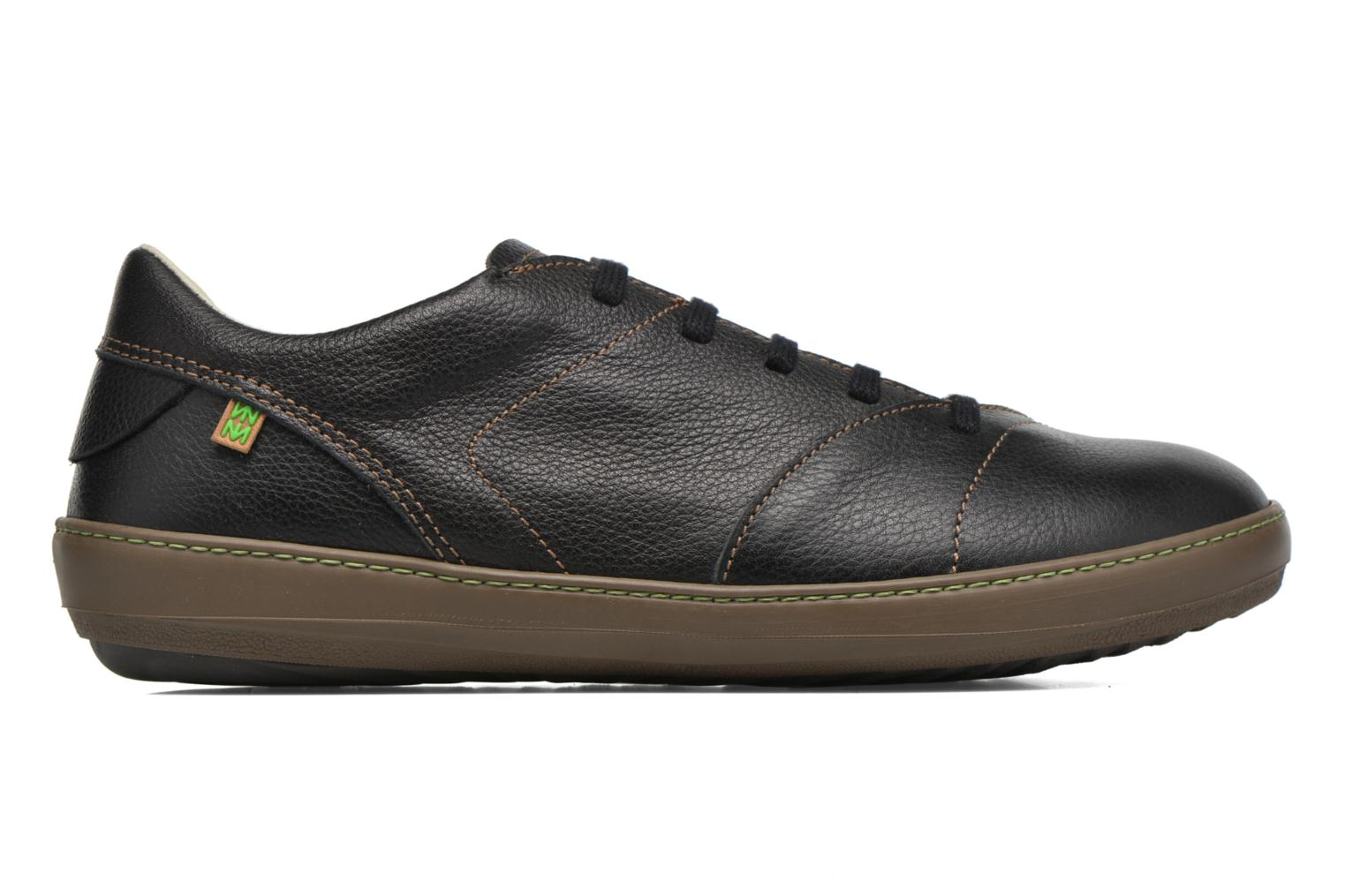 Lace-up shoes El Naturalista Meteo N211 Black back view