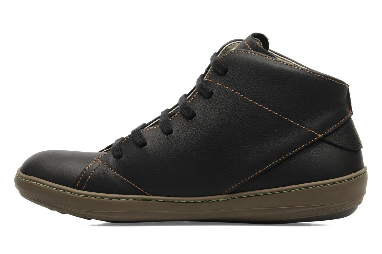 Zapatos con cordones El Naturalista Meteo N212 Negro vista de frente
