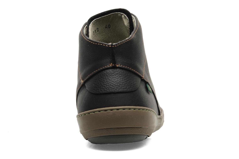 Zapatos con cordones El Naturalista Meteo N212 Negro vista lateral derecha