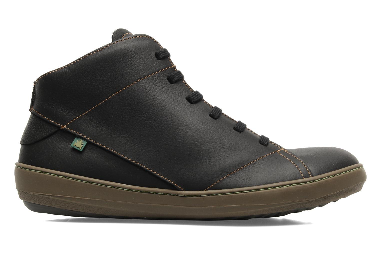 Zapatos con cordones El Naturalista Meteo N212 Negro vistra trasera