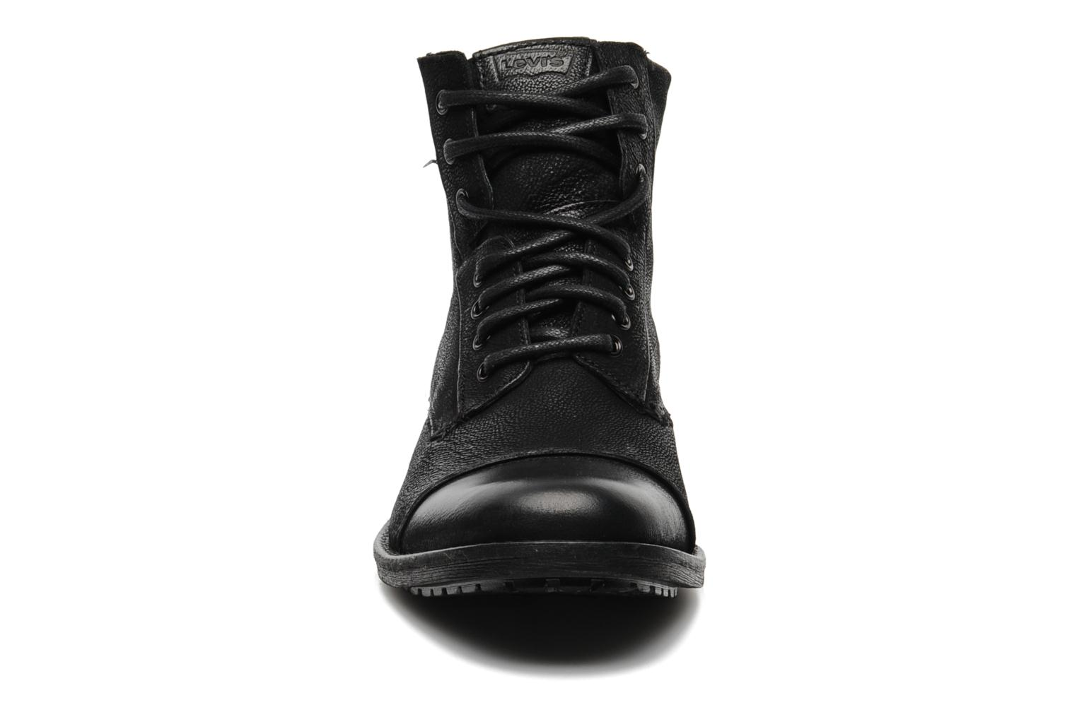 Boots en enkellaarsjes Levi's Maine Lace Up Zwart model