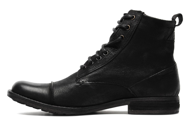 Bottines et boots Levi's Maine Lace Up Noir vue face