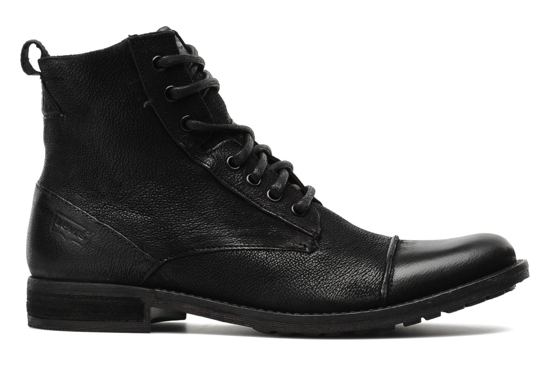 Stiefeletten & Boots Levi's Maine Lace Up schwarz ansicht von hinten