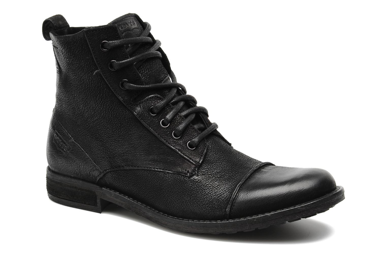 Bottines et boots Levi's Maine Lace Up Noir vue détail/paire