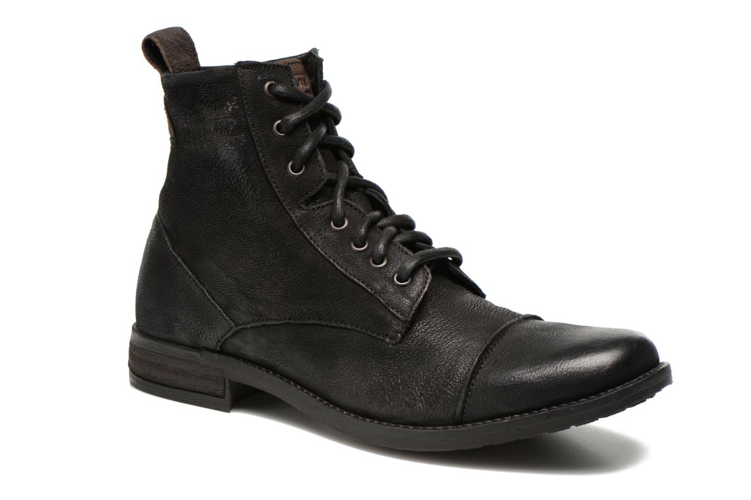 Bottines et boots Levi's Maine Lace Up Noir vue détail/paire