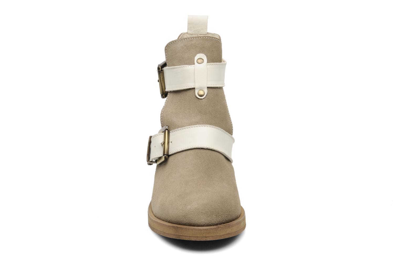 Bottines et boots Jonak Janik Beige vue portées chaussures