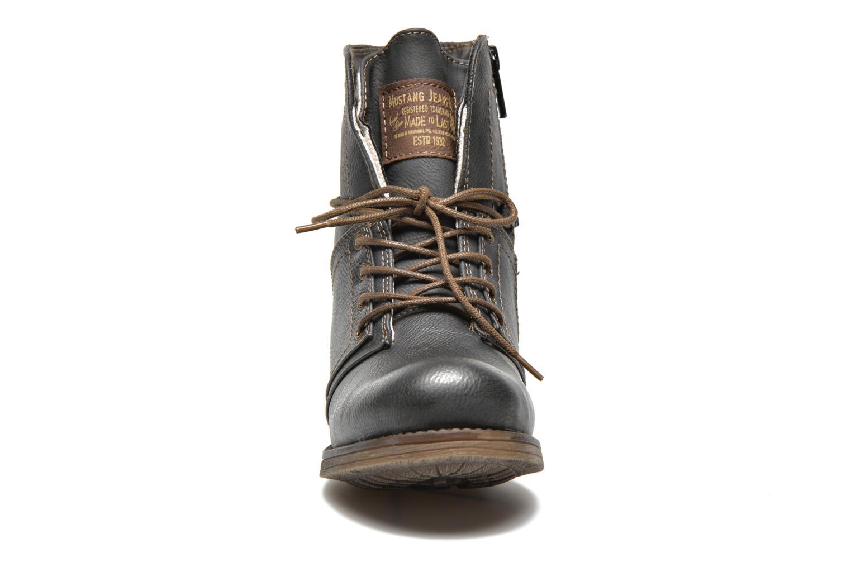 Stiefeletten & Boots Mustang shoes Irina grau schuhe getragen