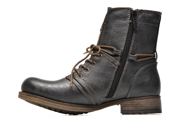 Bottines et boots Mustang shoes Irina Gris vue face