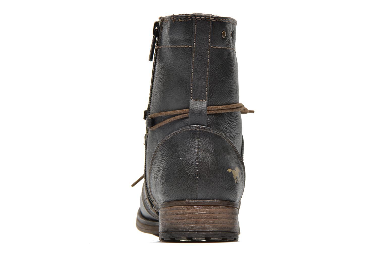 Stiefeletten & Boots Mustang shoes Irina grau ansicht von rechts