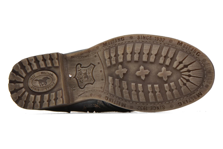 Stiefeletten & Boots Mustang shoes Irina grau ansicht von oben