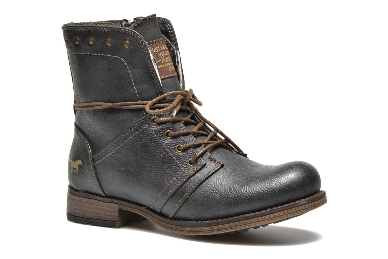 Bottines et boots Mustang shoes Irina Gris vue détail/paire