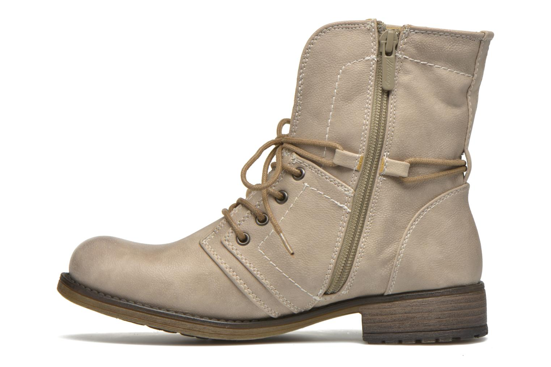 Boots en enkellaarsjes Mustang shoes Irina Beige voorkant