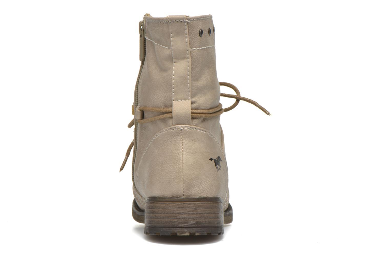 Boots en enkellaarsjes Mustang shoes Irina Beige rechts