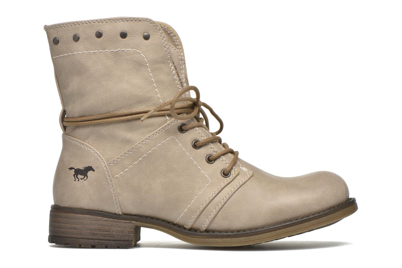 Boots en enkellaarsjes Mustang shoes Irina Beige achterkant