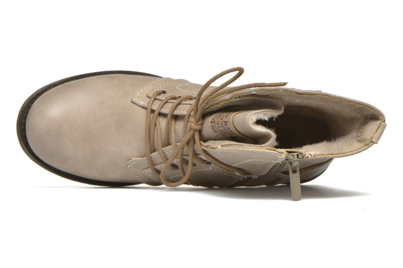 Boots en enkellaarsjes Mustang shoes Irina Beige links