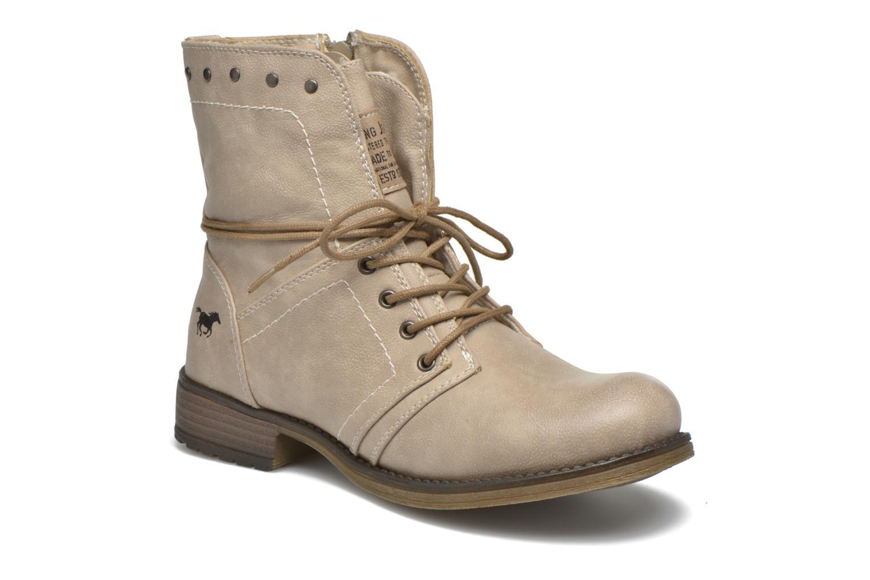 Boots en enkellaarsjes Mustang shoes Irina Beige detail