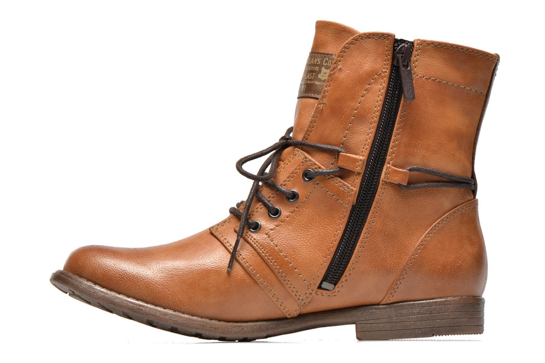Bottines et boots Mustang shoes Mirjam Marron vue face