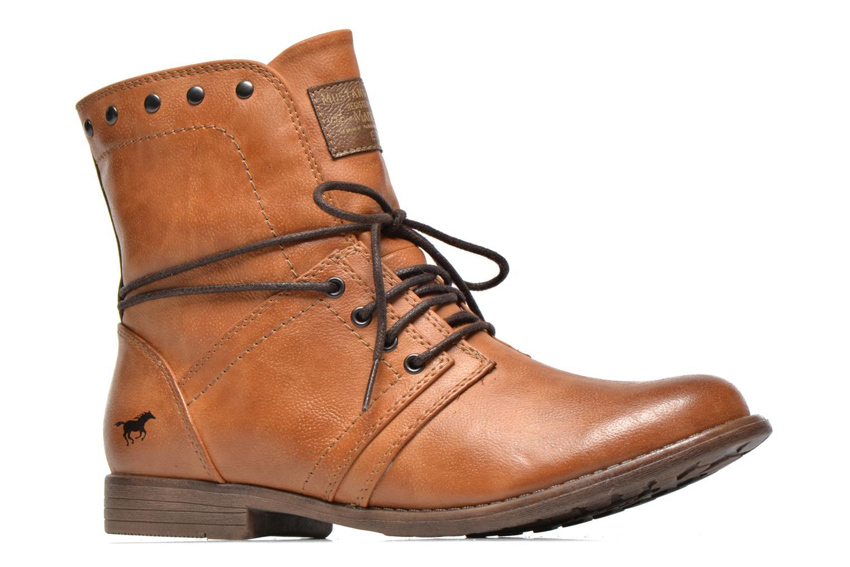 Bottines et boots Mustang shoes Mirjam Marron vue derrière