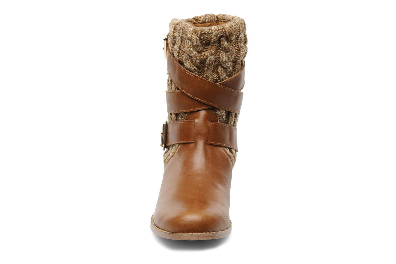 Bottines et boots Mellow Yellow Omosaic Marron vue portées chaussures