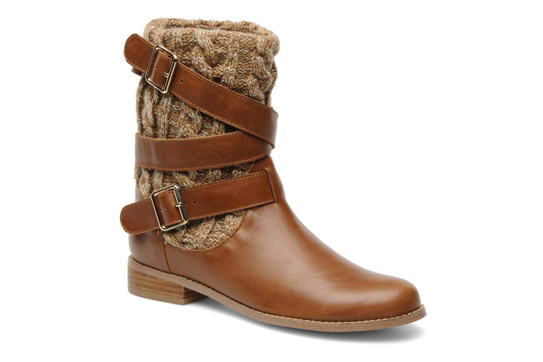 Bottines et boots Mellow Yellow Omosaic Marron vue détail/paire