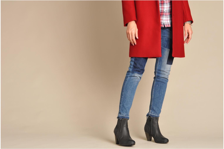 Boots en enkellaarsjes I Love Shoes Samara Zwart onder