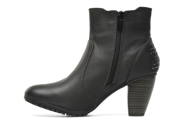 Boots en enkellaarsjes I Love Shoes Samara Zwart voorkant