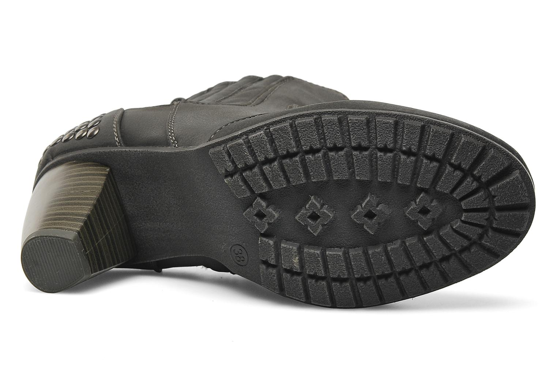 Boots en enkellaarsjes I Love Shoes Samara Zwart boven