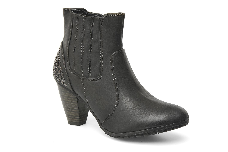 Boots en enkellaarsjes I Love Shoes Samara Zwart detail