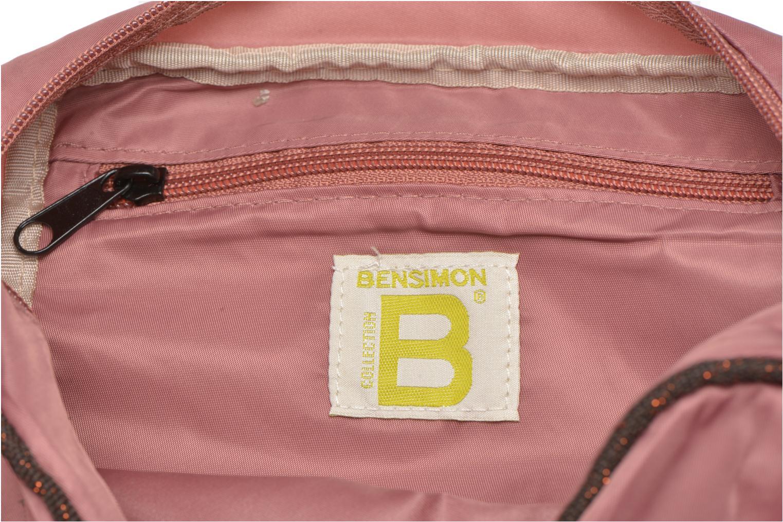 Handtassen Bensimon Small Besace Roze achterkant
