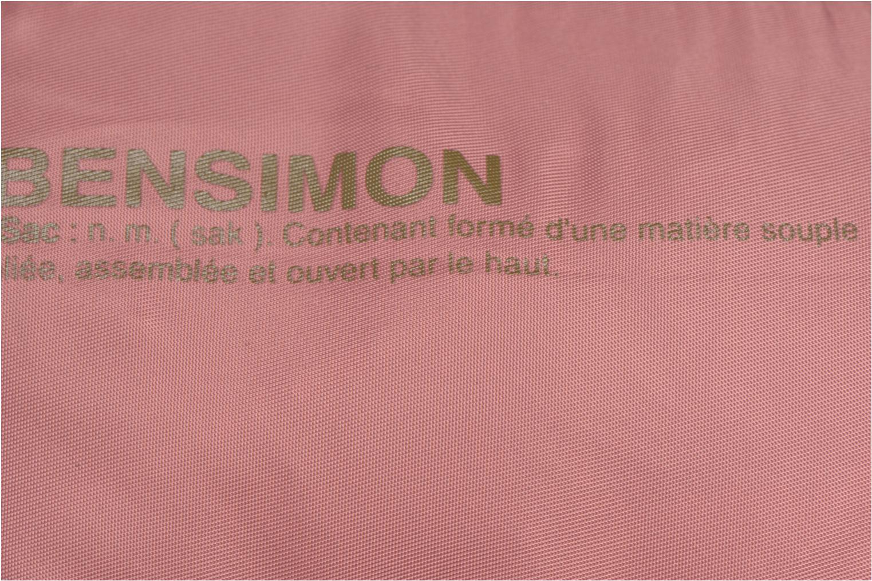 Handtassen Bensimon Small Besace Roze links