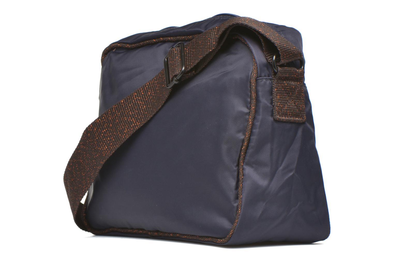 Handtassen Bensimon Small Besace Blauw rechts