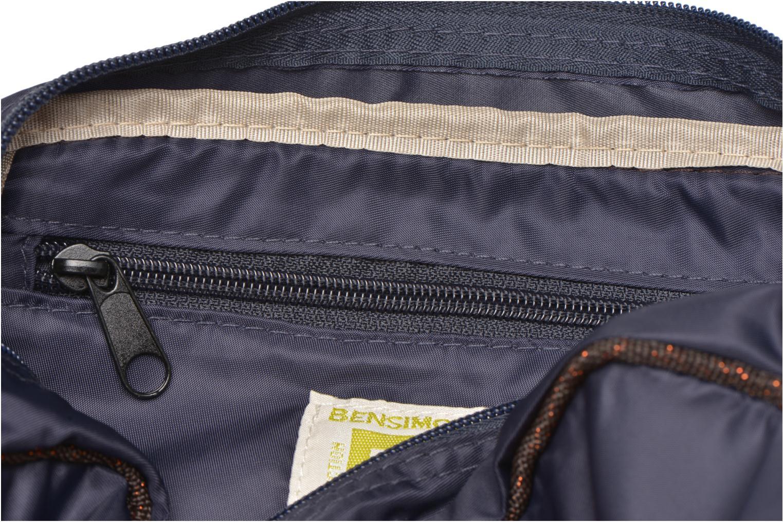 Handtassen Bensimon Small Besace Blauw achterkant