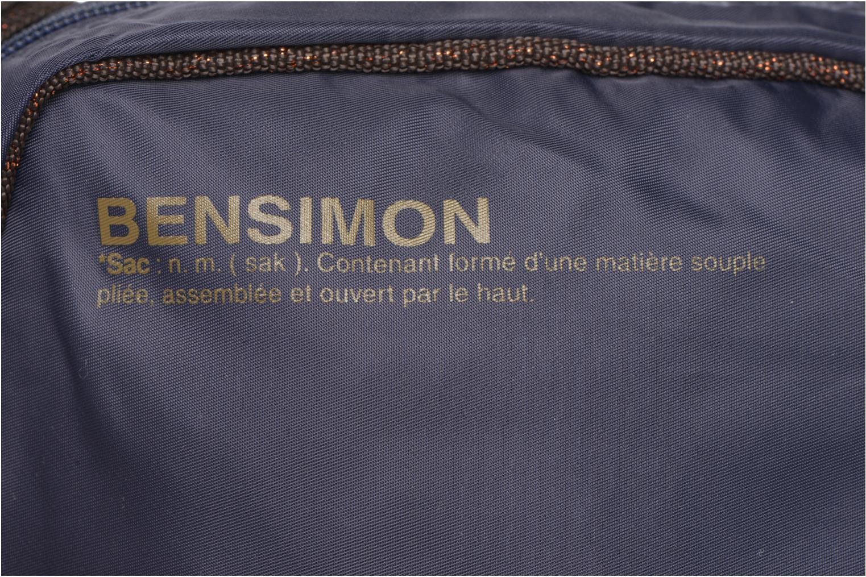 Handtassen Bensimon Small Besace Blauw links