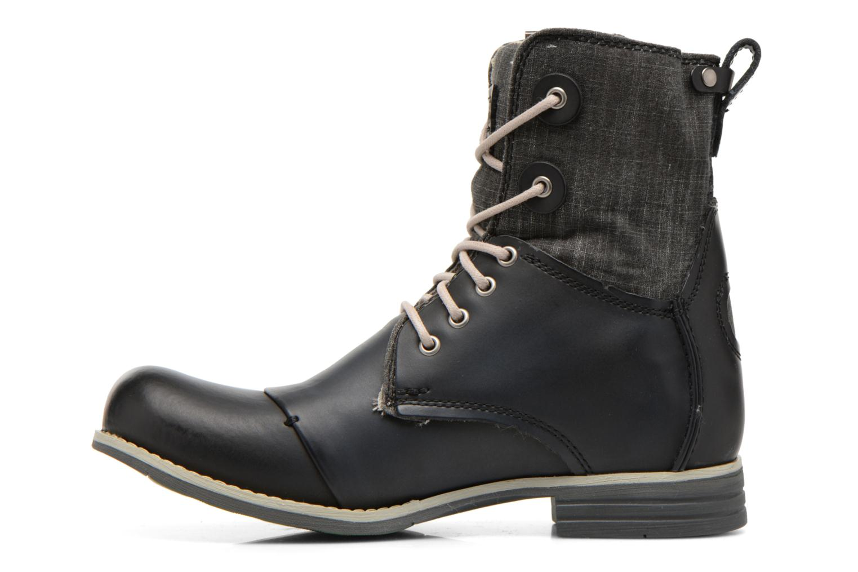 Bottines et boots Bunker Tara por Noir vue face