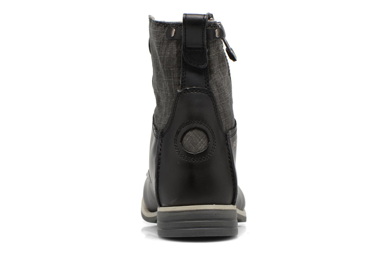 Bottines et boots Bunker Tara por Noir vue droite