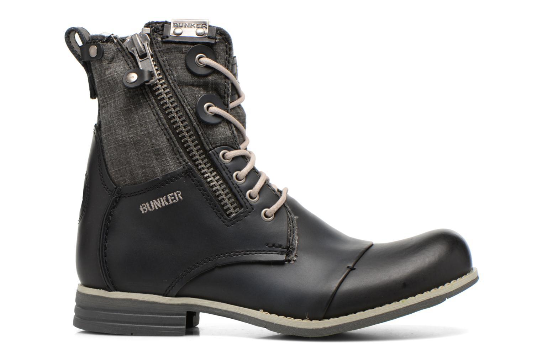 Bottines et boots Bunker Tara por Noir vue derrière