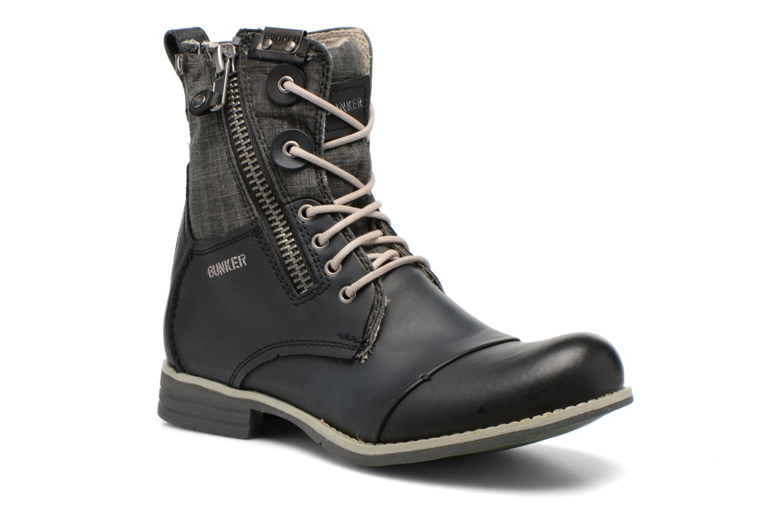 Bottines et boots Bunker Tara por Noir vue détail/paire