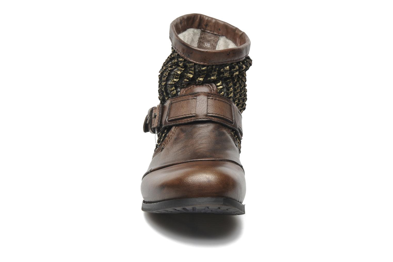 Bottines et boots Bunker Sara core Marron vue portées chaussures
