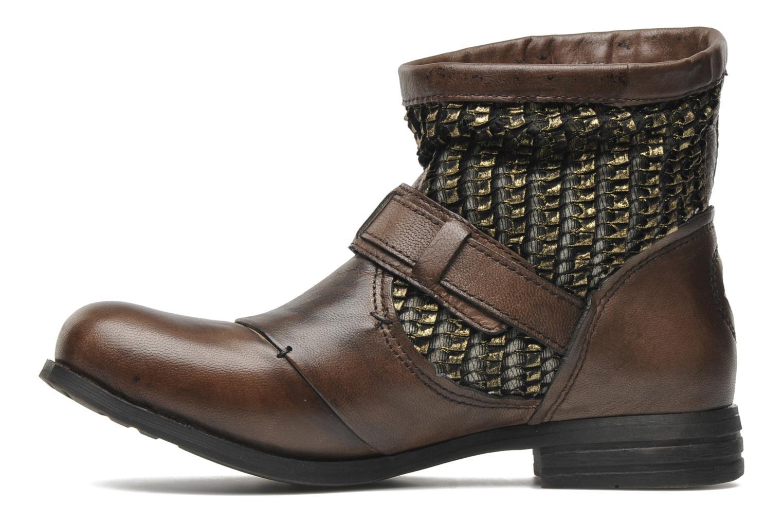 Bottines et boots Bunker Sara core Marron vue face