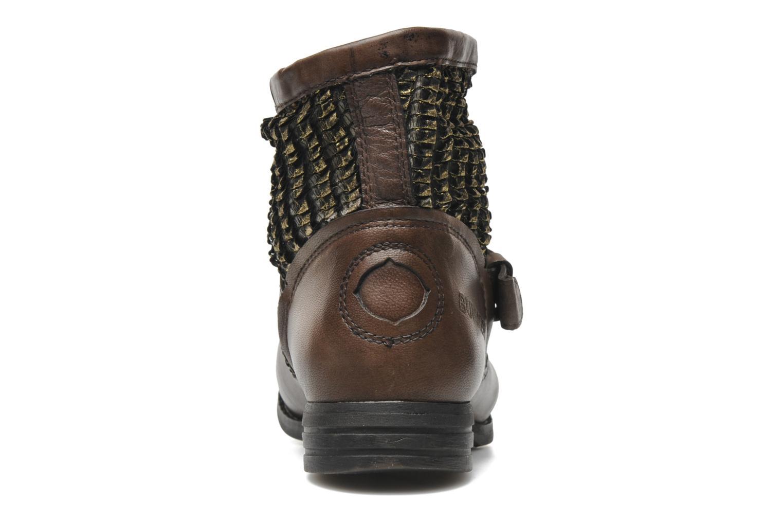 Bottines et boots Bunker Sara core Marron vue droite