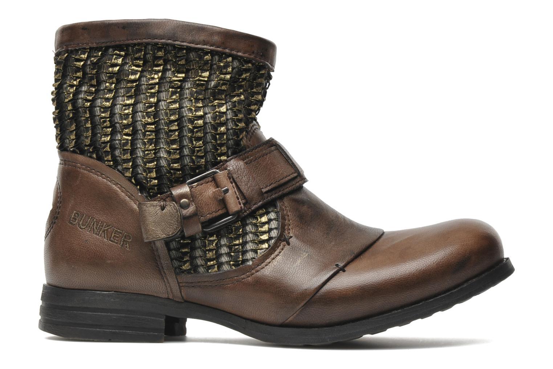 Bottines et boots Bunker Sara core Marron vue derrière