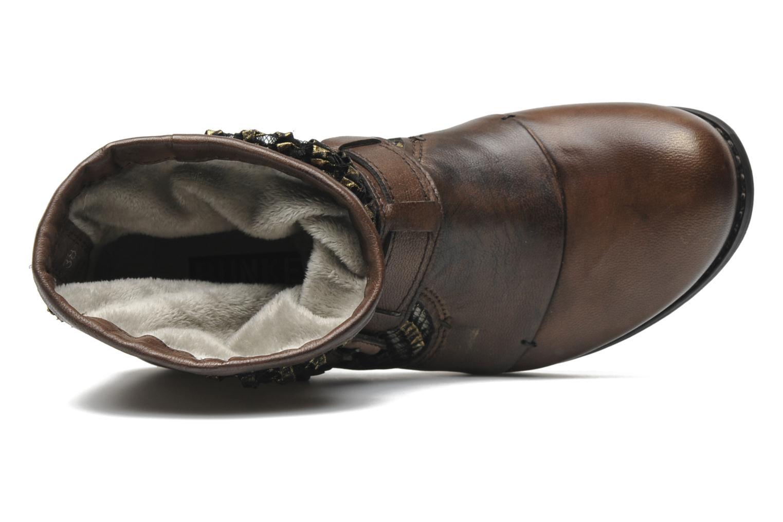 Bottines et boots Bunker Sara core Marron vue gauche
