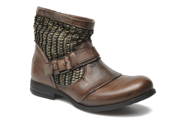 Bottines et boots Bunker Sara core Marron vue détail/paire