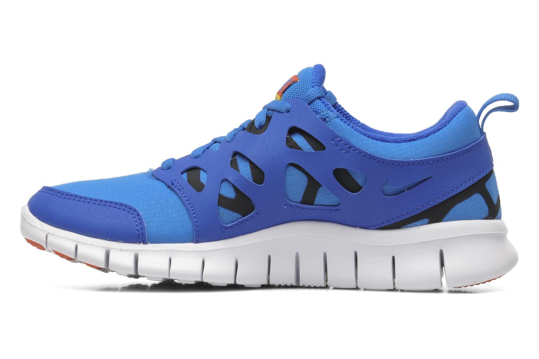 Sportschuhe Nike Nike Free Run 2 (Gs) blau ansicht von vorne