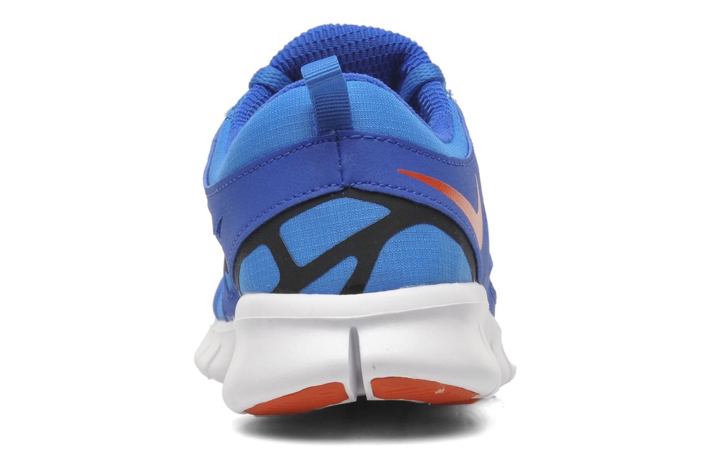 Sportschuhe Nike Nike Free Run 2 (Gs) blau ansicht von rechts