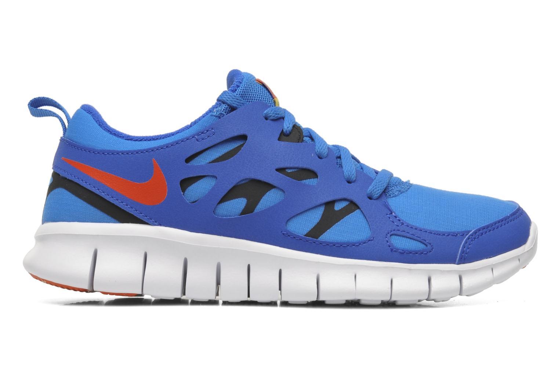 Sportschuhe Nike Nike Free Run 2 (Gs) blau ansicht von hinten