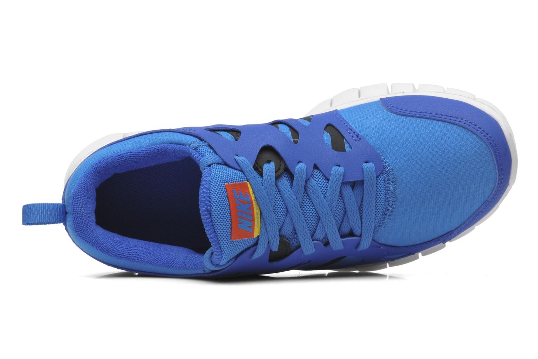 Sportschuhe Nike Nike Free Run 2 (Gs) blau ansicht von links