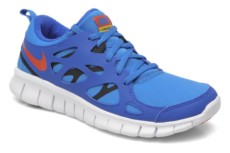Sportschuhe Nike Nike Free Run 2 (Gs) blau detaillierte ansicht/modell
