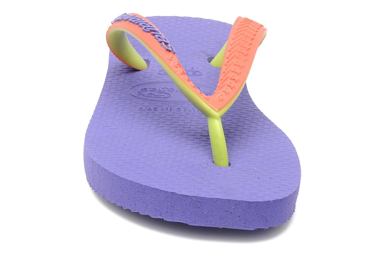 Tongs Havaianas Top Mix Violet vue portées chaussures