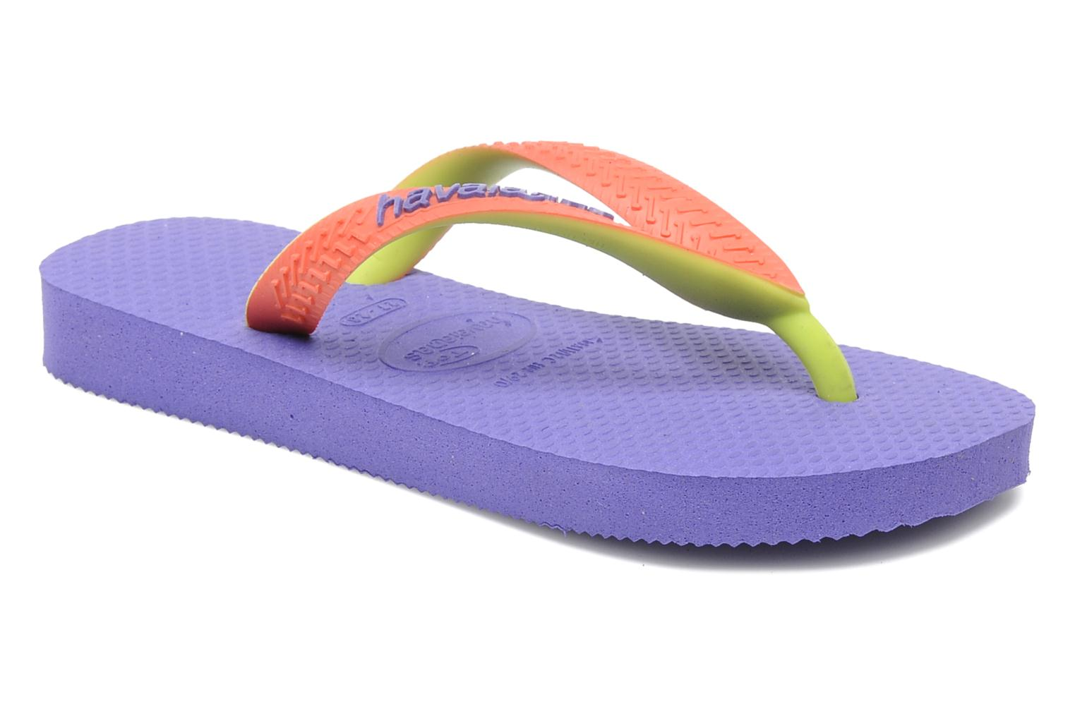 Slippers Havaianas Top Mix Paars detail